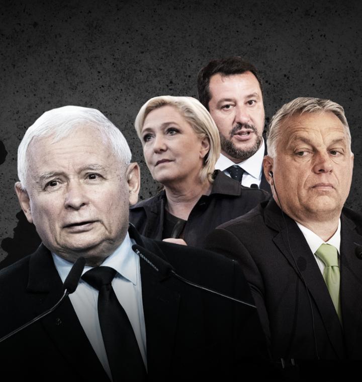 Do sojuszu PiS z Orbánem i Salvinim dołącza Marine Le Pen - OKO.press