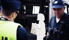 Interweniujący policjanci