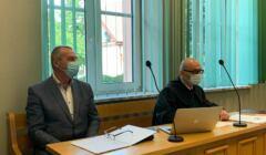 Starosta przasnycki podczas procesu przeciwko twórcom Atlasu Nienawiści