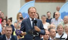 Donald Tusk w Szczecinie