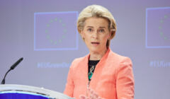 Przewodnicząca KE Ursula von der Leyen