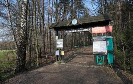 Wejście do Świętorzyskiego Parku Narodowego