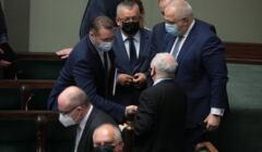 Członkowie rządu PiS w Sejmie