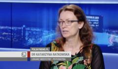 dr Katarzyna Ratkowska w programie