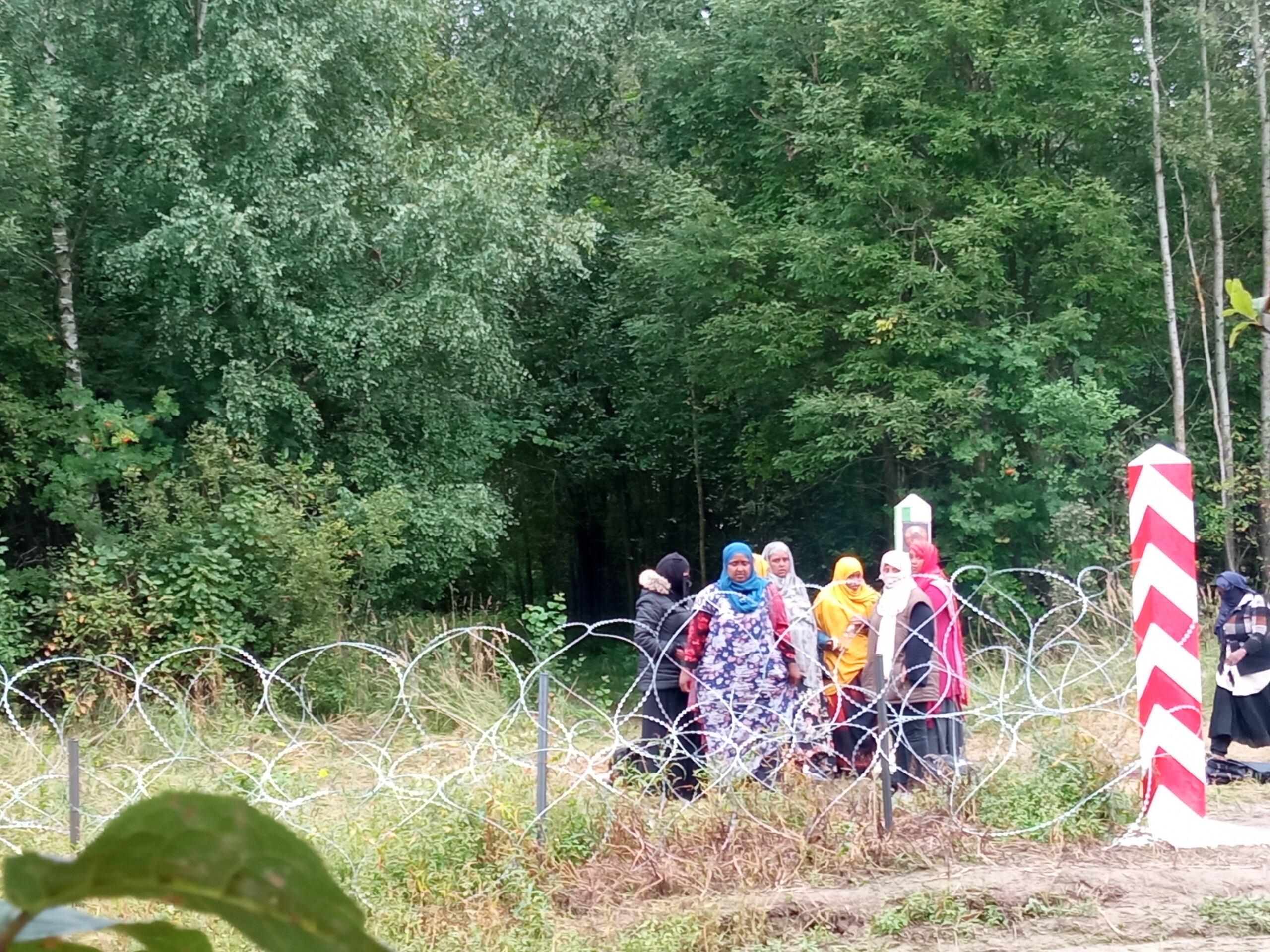 Somalijki na pograniczu Polski i Białorusi