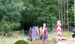 Somalijskie uchodźczynie na granicy Białorusi i Polski