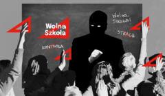 Grafika akcji Wolna Szkoła