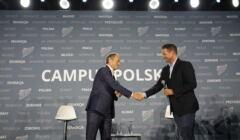 Donald Tusk i Rafał Trzaskowski. Konfrontacji nie było. Role są podzielone, Campus Polska Przyszłości, 27 sierpnia 2021