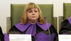 Izba Dyscyplinarna SN. Na zdjęciu sędzia Małgorzata Bednarek, która ignoruje postanowienia TSUE