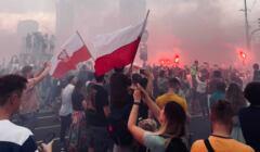Race odpalone podczas obchodów rocznicy powstania warszawskiego