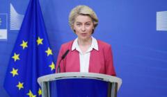 Ursula von der Leyen mówi o Funduszu Odbudowy
