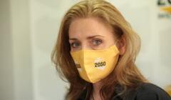 Joanna Mucha (Polska 2050 Szymona Hołowni) o szczepieniach: