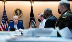 Prezydent USA Joe Biden i doradcy ds bezpieczeństwa, 21 sierpnia, FB Białego Domu