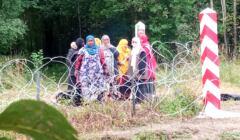 Somalijki na granicy polsko-białoruskiej