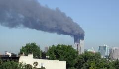 Płonące wieże World Trade Center