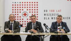 PCK na granicę Jerzy Bisek polski czerwony krzyż