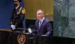 Andrzej Duda przemawia na forum ONZ