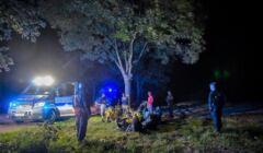 Uchodźcy. Dziewięcioro wyczerpanych obywateli Konga i jednego Kameruńczyka odnaleźli aktywiści nieopodal niedostępnej strefy w Podlaskiem, objętej stanem wyjątkowym,