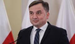 Konferencja ministra sprawiedliwosci Zbigniewa Ziobry