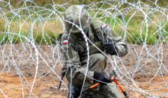Sejm przyjął specustawę o budowie zapory na granicy polsko-białoruskiej, 14 października 2021