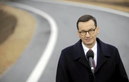 Mateusz Morawiecki otwiera odcinek autostrady A!