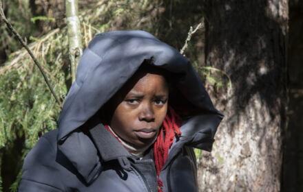 Kobieta z Konga odnaleziona przez organizację pomocową na granicy