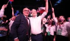 Włodzimierz Czarzasty i Robert Biedroń zostali wybrani przewodniczącymi Nowej Lewicy, 9 października 2021