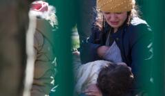 Dzieci uchodźców w strażnicy w Michałowie