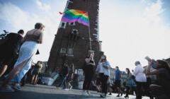 Kraków, 29.08.2020. Marsz równości